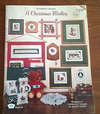 A Christmas Medley in Cross Stitch by Canterbury Designs