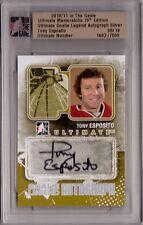 TONY ESPOSITO 10/11 ITG Ultimate LEGEND Auto Autograph #'d 08/19 SP Blackhawks