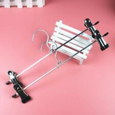 4x Stainless Steel Clip for Clothes Coat Trouser Hangers Skirt Fancy Dress Chic
