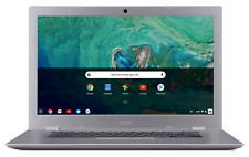 "New listing Acer 15.6"" Chromebook Laptop Intel Celeron N3350 2.40Ghz 32Gb Ssd 4Gb Ram Silver"