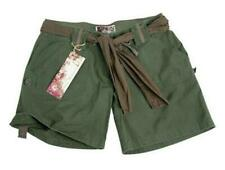 SHORT ARMY FEMME VERT OLIVE 100 % COTON RIPSTOP TAILLE XS
