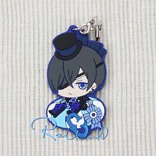 Anime Kuroshitsuji / Black Butler Ciel Keychain Rubber Strap Pendant Key Ring