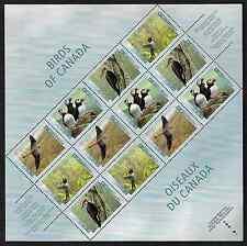 Canada Stamps - Philatelic Full Pane of 12 - Birds of Canada #1594iii - MNH
