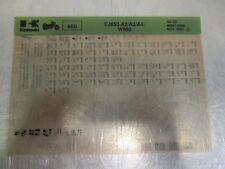 Kawasaki EJ650 A2 A3 A4 W650 Parts Microfiche 2000-02 99961-0496