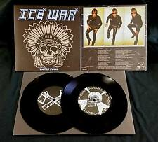 "ICE WAR - Battle Zone  7"" EP  Iron Dogs"