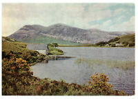 Loch Stack Looking Across to Arcuil, 2580 ft Sutherland, Scotland Rare Postcard