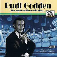 """RUDI GODDEN """"Was macht ein Mann nicht alles"""" CD Neu & OVP Pumpkin 1999"""