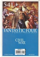 Fantastic Four #541 J. Michael Straczynski Civil War 9.6