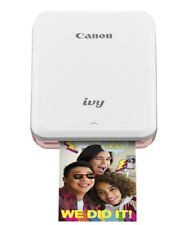 Canon 3204C001 IVY Wireless Bluetooth Mobile, Portable, Mini Photo Printer,