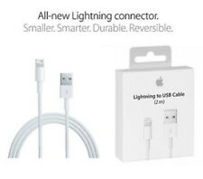 OEM New Apple 8 Pin 2M USB Cable Sync Charger Cord for iPhone 5 5S 5C 6 6+ NIB