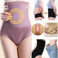Women's Magnetic Therapy High Waist Control Briefs Panties Body Shaper Underwear