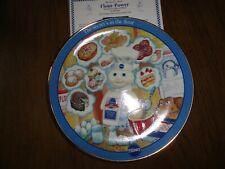 """Flour Power"" Pillsbury Doughboy plate - year 2002"