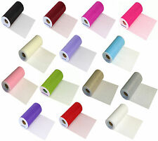 "Tulle Less than 45"" Solid/Plain Craft Fabrics"