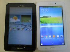 2- Samsung VERIZON  SCH-i705 & Tab E Lite SM-T113NU 8 GB Tablets Only