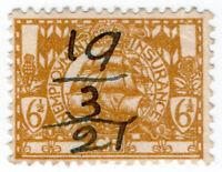 (I.B) George V Revenue : Unemployment Insurance 6½d