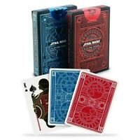 Theory 11 Star Wars Red Dark Side and Blue Light Side Playing Cards 2 Decks Lot