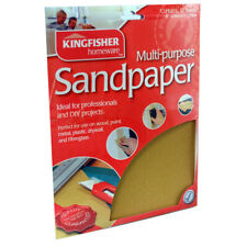 Packs of 12 Sheets Assorted Coarse Medium Fine Sandpaper - Multiples available