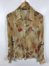 APART Damen Bluse, Größe 40, Mehrfarbig, blumenmuster, transparent, edel