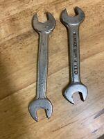 """2 VTG Barcalo Buffalo Super Duty Open Wrench/USA 3/4x5/8"""""""