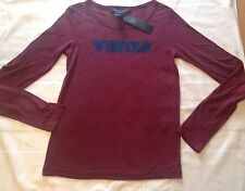 BNWT 100% auth Marc Jacobs Long Sleeved Top With Logo. RRP £130
