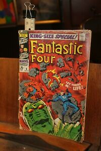 Marvel 1968 King Size Special Fantastic Four No. 6 ROUGH