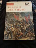 The Battle of Gettysburg American Heritage Junior Library Book Vintage Hardback