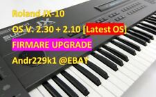 Roland JX-10 v 2.30 & board roms 2.10 (x2) Firmware Upgrade Update [Latest OS]