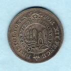 Great Britain. Somersetshire-Bristol. N:D (19th C) Anon SHILLING Token.. Fine