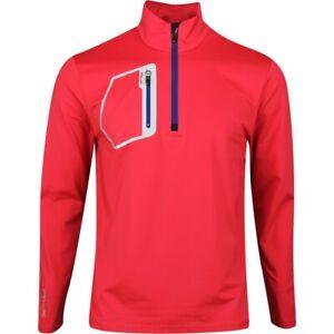 RLX Ralph Lauren Shirt Long sleeves IVY GOLF CLUB Red sz L MSRP $125