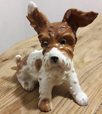 Rare Schaubach Kunst Germany Vintage Porcelain Scottie Terrier Dog Art Deco