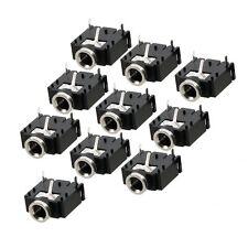 2x(10 pezzi 3 pin su PCB femminili 3.5mm Stereo Jack presa di corrente HK