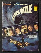 1979 THE BLACK HOLE Illustrated Film Adaptation VG+ 4.5 Golden / Walt Disney