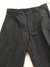 banana republic Mens Pinstripe Trousers Lightweight Wool 32W 31L