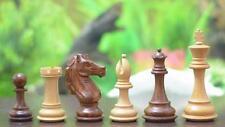 New Handcarved Shesham Box Wood Staunton weighted Chess Set 4Q ChessBazaar India