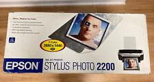 epson stylus photo 2200 printer (no Ink Cartridge)