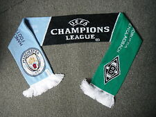 Borussia Mönchengladbach V Manchester City Football Supporters Scarf