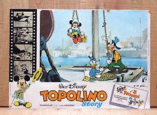 TOPOLINO STORY fotobusta poster Walt Disney Donald Duck Mickey Mouse Goofy N10