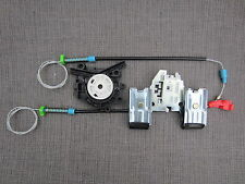 Electric Window ASTA RICAMBIO SET cable&clips POSTERIORE SINISTRA NSR VW GOLF 3 III