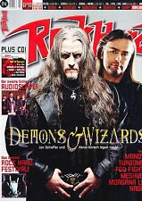 Magazin Rock Hard 218/2005,Demons & Wizards,Turbonegro,Audioslave,Foo Fighters,M