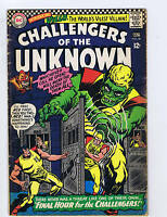 Challengers of the Unknown #50 DC Pub.1966