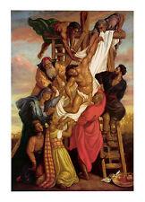 African American Religious Art Print - Descent from the Cross - Tim Ashkar - New