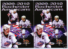 2009-2010 Ahl Rochester Americans pocket schedules 2