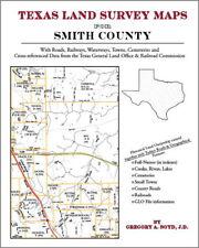 Smith County Texas Land Survey Maps Genealogy History