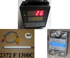 PID Temperature Controller Kiln Thermocouple SSR Relay Electric Oven Jewelry