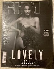 FHM Philippine Magazine LOVELY ABELLA April  2018 Issue #213