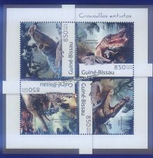 Briefmarken mit Reptilien- & Amphibien-Motiven aus Guinea-Bissau