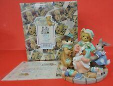 1999 Cherished Teddies Circle Of Love All Hillman Exclusive Figurine 666718