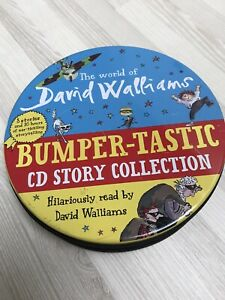 David Walliams Bumper-tastic cd Story Collection 8 Audio Books
