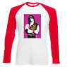 The Hitman Bret Hart Retro Wrestling Long Sleeve Jersey All Sizes WWF WCW nWo