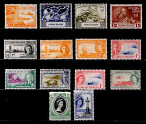 CAYMAN IS., BRITISH: CLASSIC - 1950'S STAMP COLLECTION MOSTLY UNUSED WITH SETS